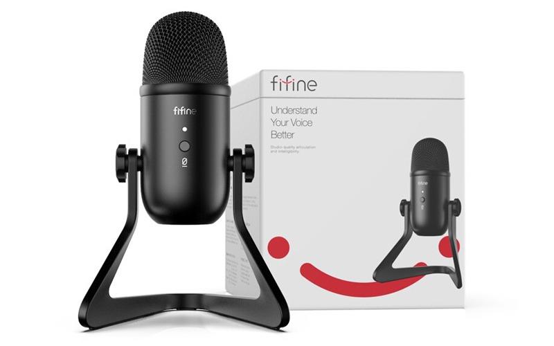 micro thu âm trên máy tính fifine k678 hình 13