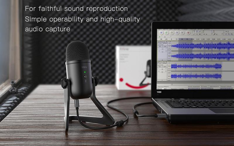 micro thu âm trên máy tính fifine k678 hình 4