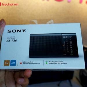 radio sony icf-p36 - 2 băng tần fm/am
