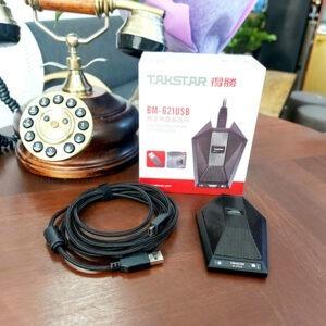 micro thu âm takstar bm-621 usb cho phòng họp trực tuyến