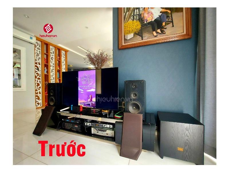 công trình lắp đặt dàn karaoke cao cấp tại khu biệt thự lucasta tp.thủ đức bố cục