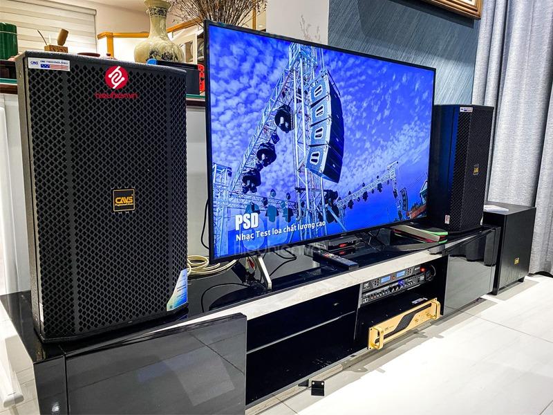 công trình lắp đặt dàn karaoke cao cấp tại khu biệt thự lucasta tp.thủ đức lắp đặt
