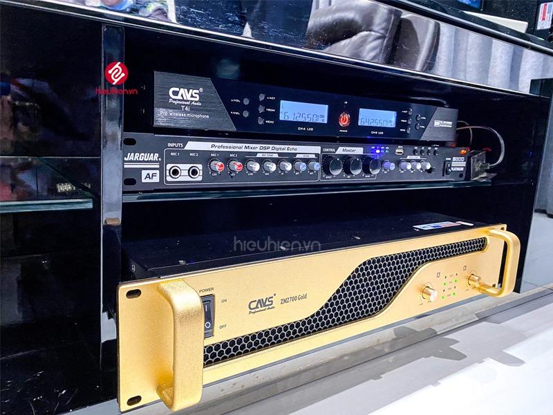 công trình lắp đặt dàn karaoke cao cấp tại khu biệt thự lucasta tp.thủ đức micro cavs t4i