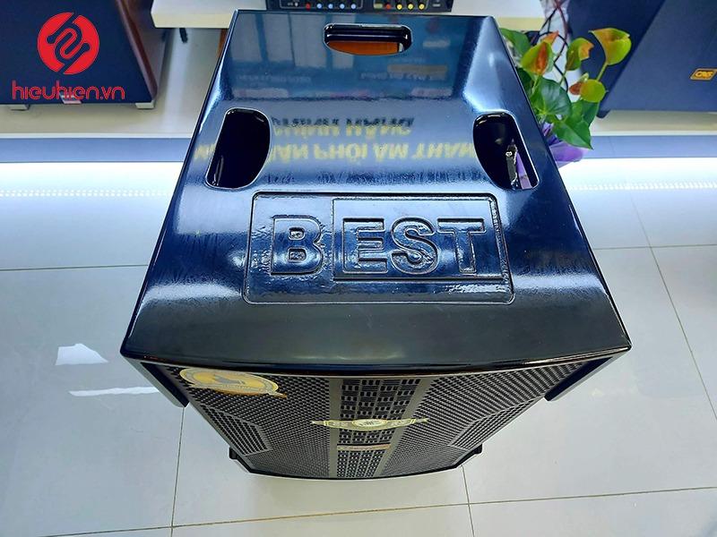 loa kéo có reverb best 6800 pro với bên ngoài được sơn bóng