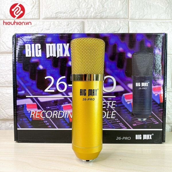 micro thu âm bigmax 26-pro