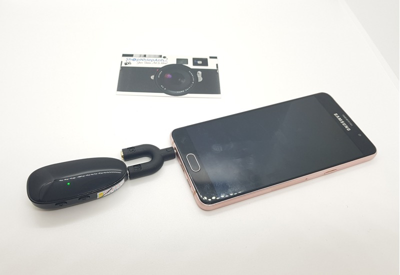 micro thu âm không dây cài áo max-01 hình 11