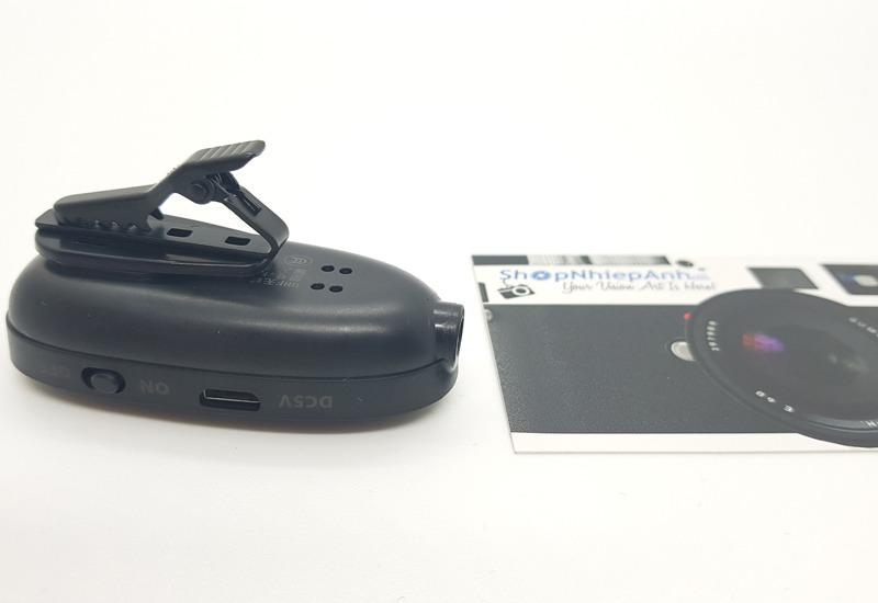 micro thu âm không dây cài áo max-01 hình 12