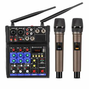 mixer g4 chỉnh âm thanh kết nối ra loa