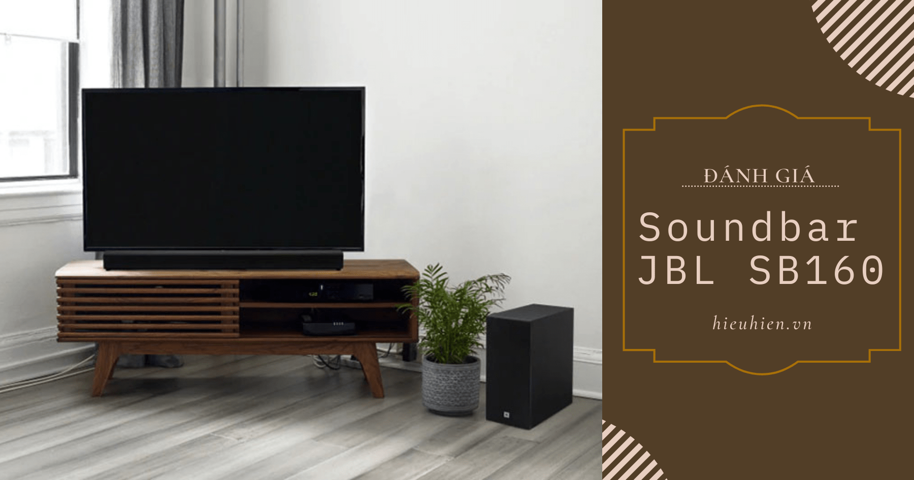 đánh giá sound bar jbl sb160
