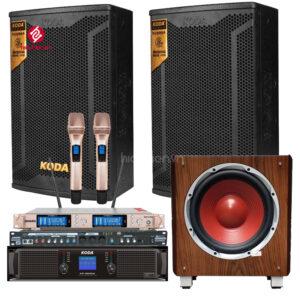 dàn karaoke gia đình h205 chính hãng koda