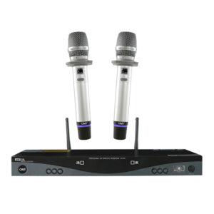micro karaoke không dây cao cấp cavs t8i - micro
