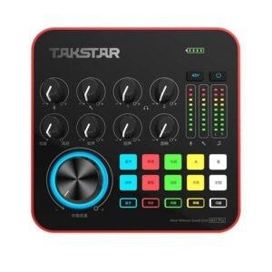 Soundcard Takstar MX1 Pro - Thu Âm, Livestream Chuyên Nghiệp